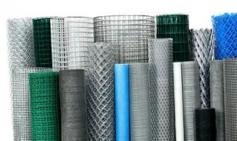 Какие бывают сетки из металла