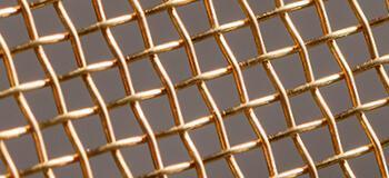 Сетка из цветных металлов