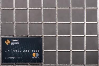 Сетка нержавеющая сварная 30х30х4 сталь 12Х18Н9
