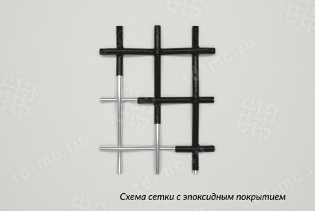 Сетка 12х10 эпоксидопокрытая НУ схема плетения - фото 5