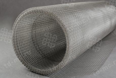 Сетка нержавеющая 10x2 из рифленой проволоки 12Х18Н9 - фото 3