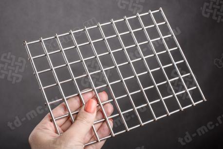 Сетка нержавеющая сварная 20х20х3 сталь 12Х18Н9 - фото 2