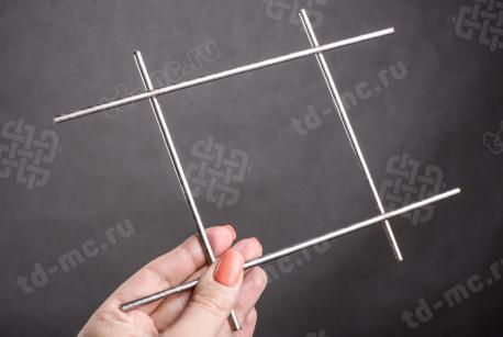 Сетка нержавеющая сварная 100х100х4 сталь 12Х18Н9 - фото 2