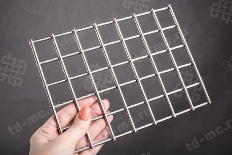Сетка нержавеющая сварная 30х30х4 сталь 12Х18Н9 - фото 2