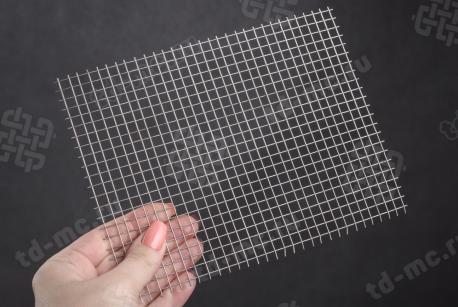 Сетка нержавеющая сварная 6х6х0,7 сталь 12Х18Н9 - фото 2