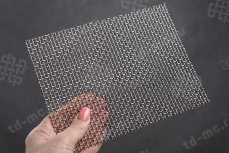 Сетка нержавеющая 3,2x1,2 из рифленой проволоки 12Х18Н9 - фото 2