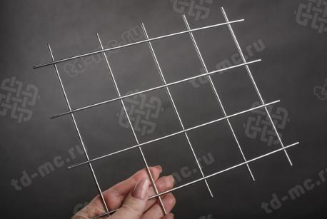 Сетка нержавеющая сварная 50х50х2,5 сталь 12Х18Н9 - фото 2