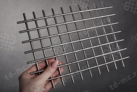 Сетка нержавеющая сварная 25х25х5 сталь 12Х18Н9 - фото 2