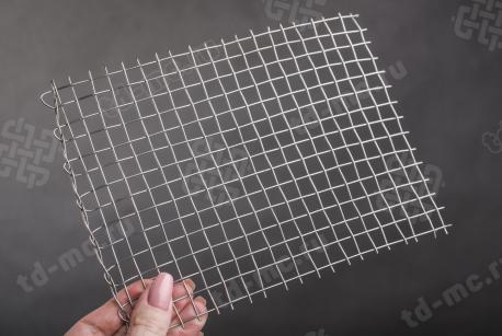Сетка нержавеющая 10x1 - фото 2