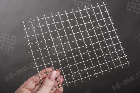 Сетка нержавеющая сварная 15х15х1,5 сталь 12Х18Н9 - фото 2