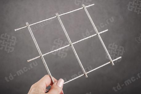 Сетка нержавеющая сварная 70х70х4 сталь 12Х18Н9 - фото 2
