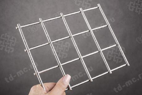 Сетка нержавеющая сварная 50х50х5 сталь 12Х18Н9 - фото 2