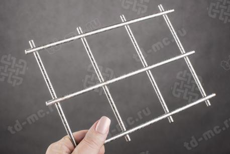 Сетка нержавеющая сварная 60х60х5 сталь 12Х18Н9 - фото 2