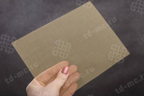 Сетка латунная 0,8x0,3 - фото 2