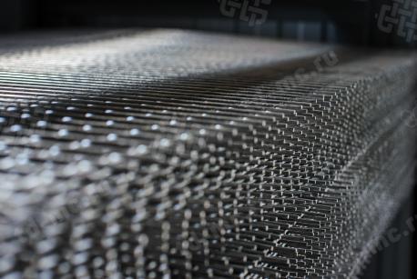 Сетка нержавеющая сварная 20х20х3 сталь 12Х18Н9 - фото 3