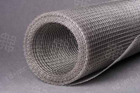 Сетка нержавеющая 18x1,6 из рифленой проволоки 12Х18Н9 - фото 3