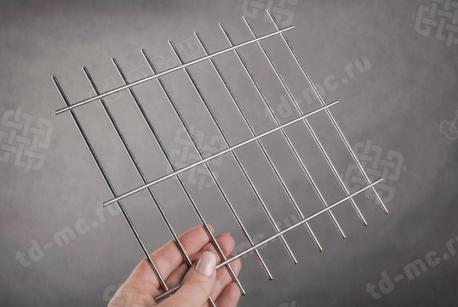 Сетка нержавеющая сварная 25х75х3 сталь 12Х18Н9 - фото 2