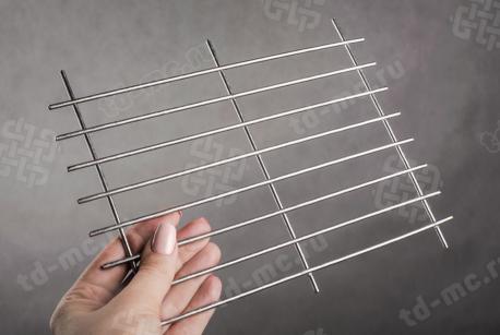 Сетка нержавеющая сварная 20х100х3 сталь 12Х18Н9 - фото 2