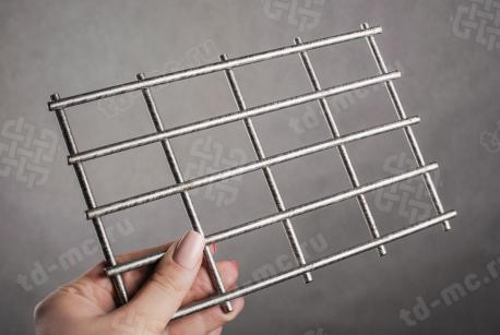 Сетка нержавеющая сварная 30х50х5 сталь 12Х18Н9 - фото 2