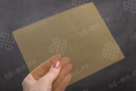 Сетка латунная 1x0,4 - фото 2