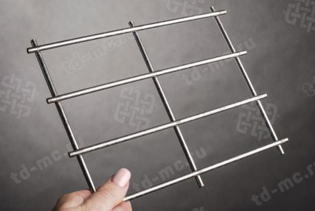 Сетка нержавеющая сварная 50х100х5 сталь 12Х18Н9 - фото 2