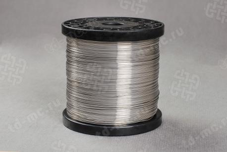 Проволока нержавеющая 0,6мм 08Х18Н10 для сеток, светлая ТУ 14-4-1571-89 - фото 2