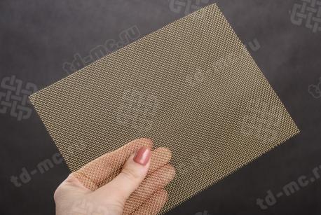 Сетка латунная 1,25х0,4 - фото 2