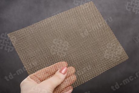 Сетка латунная 2x0,5 - фото 2