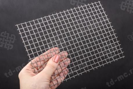 Сетка нержавеющая 8x1,2 - фото 2