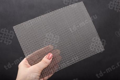 Сетка нержавеющая 2x1,2 из рифленой проволоки 12Х18Н9 - фото 2