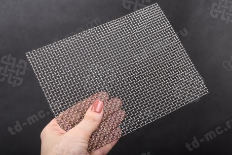 Сетка нержавеющая 2x1 из рифленой проволоки 12Х18Н9 - фото 2