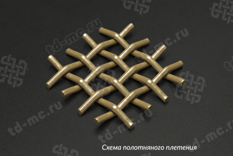 Сетка латунная 0,7х0,28 - фото 4