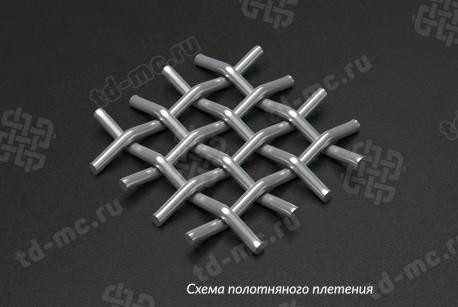 Сетка нержавеющая 6x1,2 - фото 4