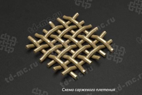 Сетка бронзовая 0,056х0,04 - фото 4