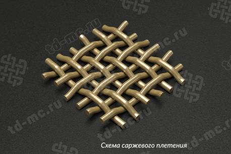 Сетка латунная 0,071x0,05 - фото 4