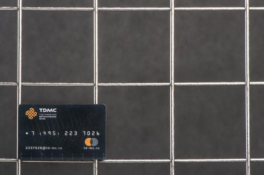 Сетка нержавеющая сварная 75х75х4 сталь 12Х18Н9