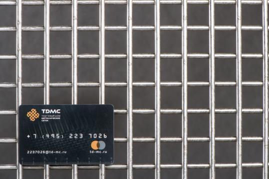 Сетка нержавеющая сварная 25х25х5 сталь 12Х18Н9