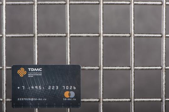 Сетка нержавеющая сварная 40х40х5 сталь 12Х18Н9