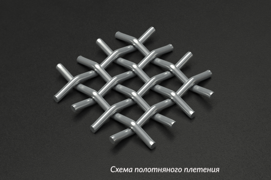 Сетка нержавеющая 16x2,5