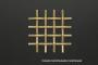 Сетка латунная 0,08x0,055 схема плетения - фото 5