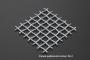 Сетка нержавеющая 2x1,2 из рифленой проволоки 12Х18Н9 схема плетения - фото 4