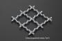 Сетка нержавеющая 16x1,6 из рифленой проволоки 12Х18Н9 схема плетения - фото 4