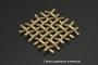 Сетка бронзовая 0,056х0,04 схема плетения - фото 4